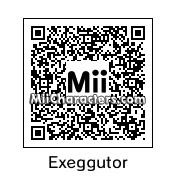 QR Code for Exeggutor by windkirby