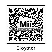 QR Code for Cloyster by windkirby