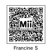 QR Code for Francine Smith by Cpt Kangru