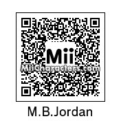 QR Code for Michael B. Jordan by AnthonyIMAX3D