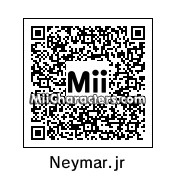 QR Code for Neymar Jr. by miimaster24