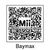 QR Code for Baymax by Xav