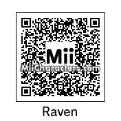 QR Code for Raven by TheLazyVidya