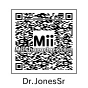 QR Code for Dr. Henry Jones Sr. by Cpt Kangru