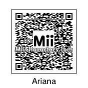 QR Code for Ariana Grande by Rainbowgirl