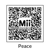 QR Code for Peace Sign by Cpt Kangru