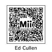QR Code for Edward Cullen by Cpt Kangru