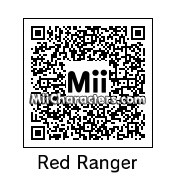 QR Code for Red Power Ranger by Finn M