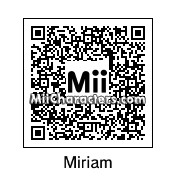 QR Code for Miriam by SAMU0L0