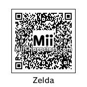 QR Code for Princess Zelda by Ukloim