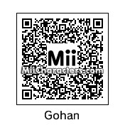 QR Code for Son Gohan by Ukloim