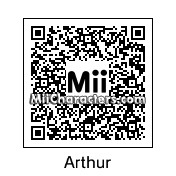 QR Code for Arthur by Chicken L