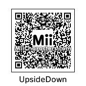 QR Code for Upside Down Face by 3dsGamer2007