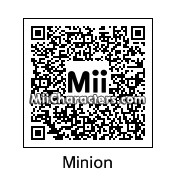 QR Code for Minion by Toon and Anime