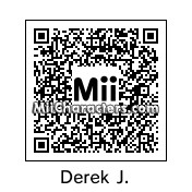 QR Code for Derek Jeter by 3dsGamer2007