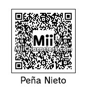 QR Code for Enrique P. Nieto by Cipi