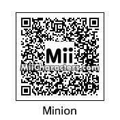 QR Code for Minion by Wii Babii