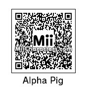 QR Code for Alpha Pig by TurboJUSA
