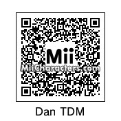 QR Code for Dan The Diamond Minecart by Pommedeter