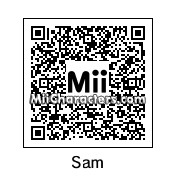 QR Code for Sam by Rusty Steele