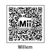 QR Code for Willem Dafoe by Midna