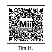 QR Code for Tim Howard by 3dsGamer2007