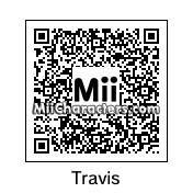 QR Code for Travis by DE7