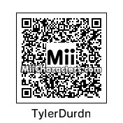 QR Code for Tyler Durden by Mahmus