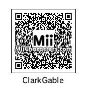 QR Code for Clark Gable by Groucho