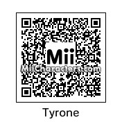QR Code for Tyrone by 3dsGamer2007