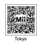 QR Code for Tokyo by TurboJUSA