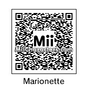 QR Code for Marionette by 3dsGamer2007