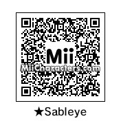QR Code for Shiny Sableye by Shadow Raymond