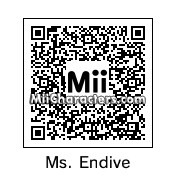 QR Code for Ms. Endive by Toon and Anime