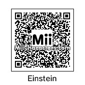 QR Code for Albert Einstein by Tocci