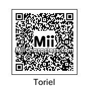 QR Code for Toriel by zeox