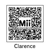 QR Code for Clarence Wendell by godehteikooc