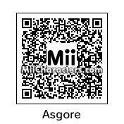 QR Code for Asgore Dreemurr by Rusty Steele