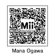 QR Code for Mana Ogawa by rhythmclock