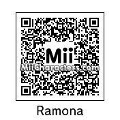 QR Code for Ramona Flowers by WhiteT