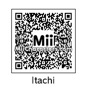 QR Code for Itachi Uchiha by WhiteT
