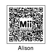 QR Code for Alison Hendrix by Mordecai