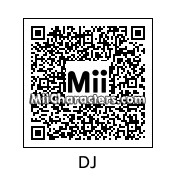 QR Code for DJ by Toon and Anime