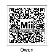 QR Code for Owen by Dominic