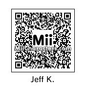 QR Code for Jeff Kinney by 3dsGamer2007