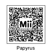 QR Code for Papyrus by Pod