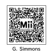 QR Code for Gene Simmons by KISSman