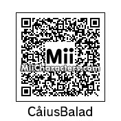 QR Code for Caius Ballad by Jayson