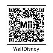 QR Code for Walt Disney by Phillip