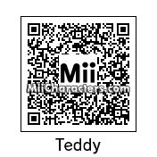 QR Code for Teddy by godehteikooc